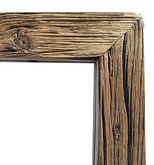 Zrkadlá - Zrkadlo stare drevo bez farebnej upravy - 9413914_