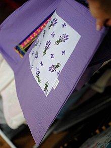 Nákupné tašky - Levanduľová taška - 9415170_