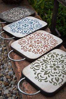 Pomôcky - Ornamentové drevené lopáriky - 9412251_