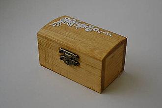 Prstene - krabička na prstienky romantická - 9417357_