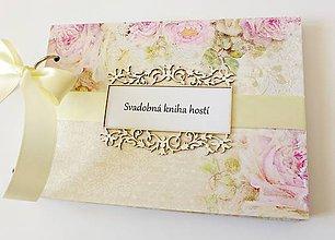 Papiernictvo - svadobná kniha hostí - 9415466_