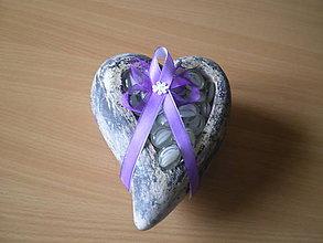 Pierka - pierko fialové pre rodičov - 9418385_