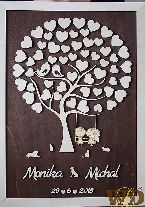 Svadobný strom  50 hostí