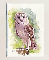 Papiernictvo - Ručne maľovaná pohľadnica - Plamienka - 9416245_