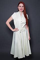 Šaty - Jemné vintage šaty - 9417666_