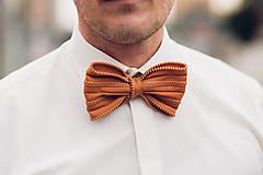 Doplnky - zipsový rebel-oranžový - 9418268_