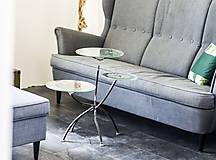 Nábytok - Kovový stôl Chopper art - 9417544_