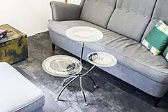 Nábytok - Kovový stôl Chopper art - 9417547_