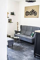 Nábytok - Kovový stôl Chopper art - 9417549_