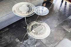 Nábytok - Kovový stôl Chopper art - 9417555_