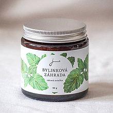 Svietidlá a sviečky - Bylinková záhrada - Medovka - sójová sviečka Jemnô - 9417298_