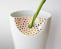 "Dekorácie - Vase ""Single"" (gold) - 9419176_"