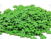 Gombík kvietok 1,1 cm (Zelený)
