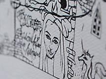 Kresby - Kniha omaľovánok