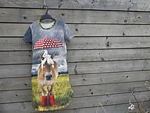 Detské oblečenie - Šaty - koník v daždi :) - 9415322_
