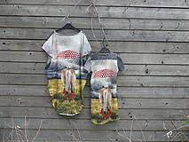 Detské oblečenie - Šaty - koník v daždi :) - 9415323_