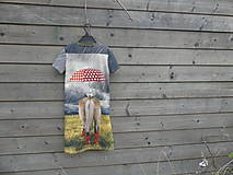 Detské oblečenie - Šaty - koník v daždi :) - 9415324_