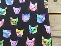 Detské oblečenie - Šaty - mačky - 9415347_