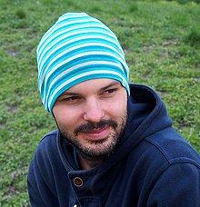 Iné oblečenie - Merino čiapka celoročná dospelák - v 4 farbách (Tyrkysová) - 9417255_