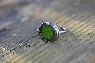 Prstene - zelený - 9418769_