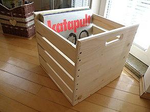Nábytok - Box na LP. - 9417110_