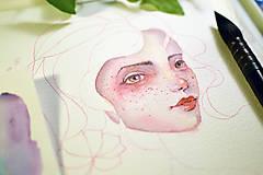 Kurzy - WORKSHOP akvarelovej maľby, Portrét (kurz, 2 dni) - 9417101_