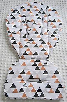 Textil - Podložka do kočíka - 9420349_