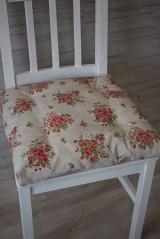 Úžitkový textil - PODSEDÁKY..květy - 9419640_