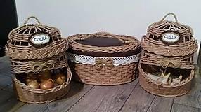 Košíky - sada košíkov do kuchyne - 9419671_