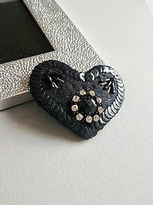 Odznaky/Brošne - Brošňa Srdce 1, - 9420261_