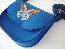 Detské tašky - Moja prvá kabelka (Motýľ) - 9420072_