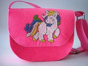 Detské tašky - Moja prvá kabelka (Poník) - 9420026_