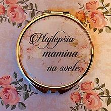 Zrkadielka - Najlepšia mamina na svete - 9421115_