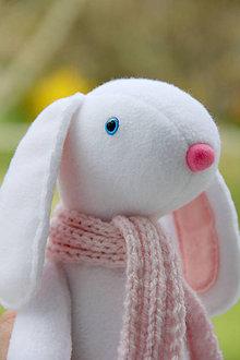 Hračky - Arthur Immanuel Ludwig - zajac biely - 9419969_