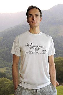 Oblečenie - Tričko s Tatranskou turistickou výzvou aj pre menej náročných turistov - 9421037_