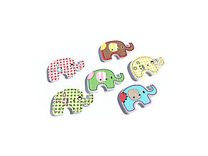 Galantéria - Gmbíček sloník - 9420780_