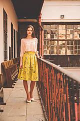 Sukne - Jupes Florales - Citron Vert - 9419691_