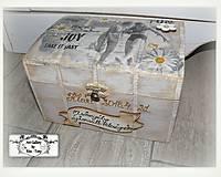 Krabičky - Spomienková krabica :) - 9421187_