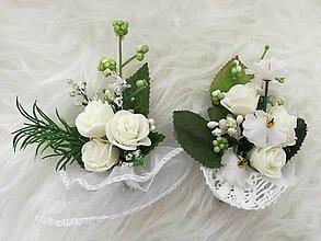 Pierka - Svadobné pierko pre ženícha. - 9421241_