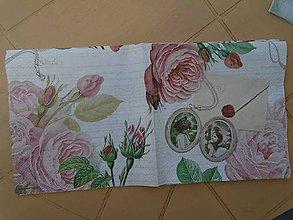 Papier - ruže - 9420480_
