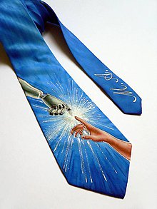 """Doplnky - Luxusní kravata pro """"ajťáka"""" - SD-H-017 - 9422824_"""