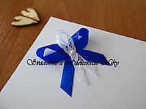 Pierka - Pierka pre hostí (Kráľovská modrá) - 9422051_