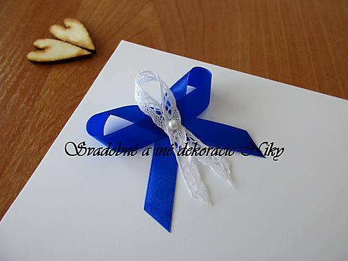 Pierka pre hostí (Kráľovská modrá)