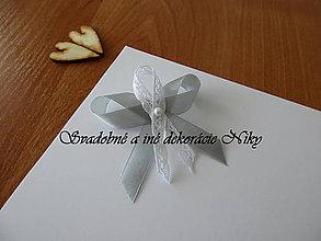Pierka - Pierka pre hostí (Strieborná (sivá)) - 9422054_