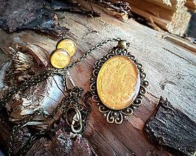 Sady šperkov - Zlatá vintage sada - 9422731_