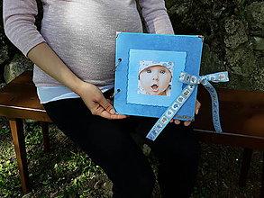 Papiernictvo - Chlapčenská fotokniha s vnútorným zdobením - 9423773_