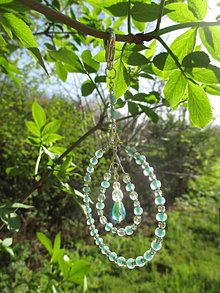 Dekorácie - Malá šperková svetlohra - little suncatcher - 9421679_