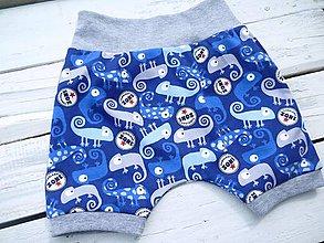 Detské oblečenie - Dětské kraťasy- CHAMELEON - 9422785_