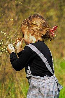 Detské oblečenie - Trakové nohavice - 9421874_
