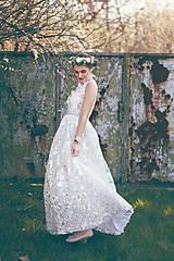 Šaty - Krajkové svadobné šaty Slavianka - 9422036_